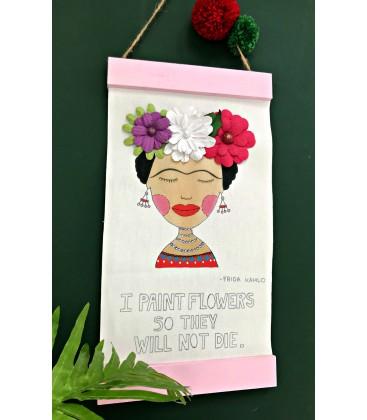 Frida Kahlo wall hanging