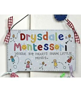 Montessori sign