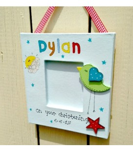 Christening frame (boys)