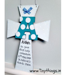 Large personalised communion Cross