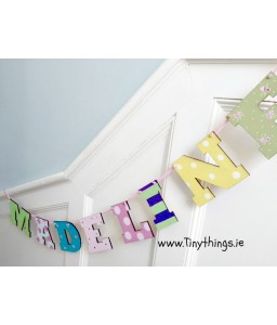 Letter Bunting 8 letters