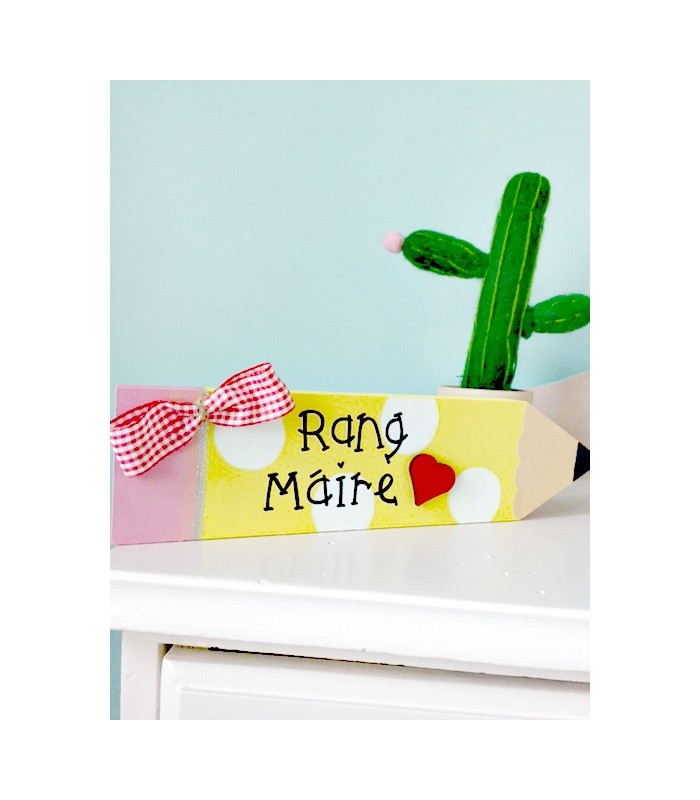 Personalised Chunky Pencil Tiny Things