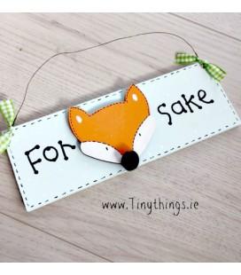 The Fox Plaque