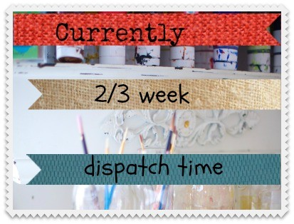 Dispatch Time Currently 2 Weeks