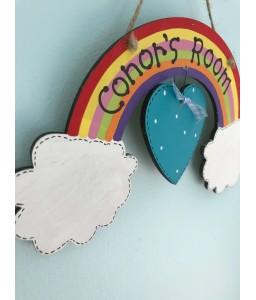 Rainbow room plaque