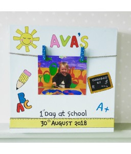 First Day of School Photo Frame