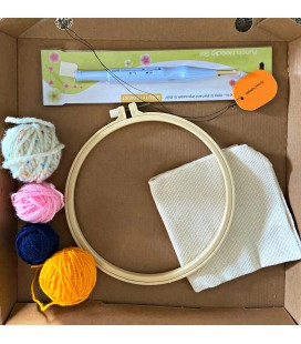 Punch Needle Kit (with wool)