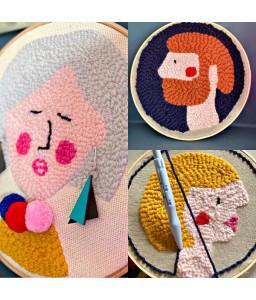 Punch Needle Kit (no wool)