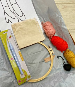 Goody two shoes punch needle kit
