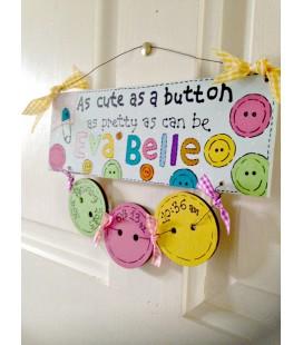 As cute as a button