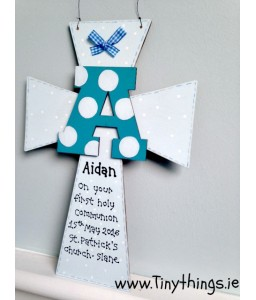 Large personalised communion Cross