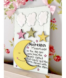 The moon plaque (girls)