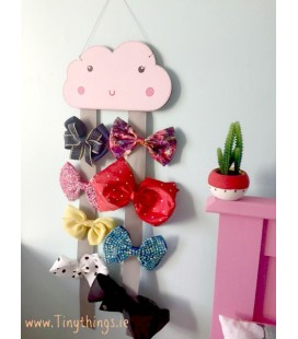 Large cloud bow holder