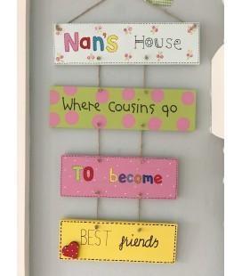 Cousins Plaque